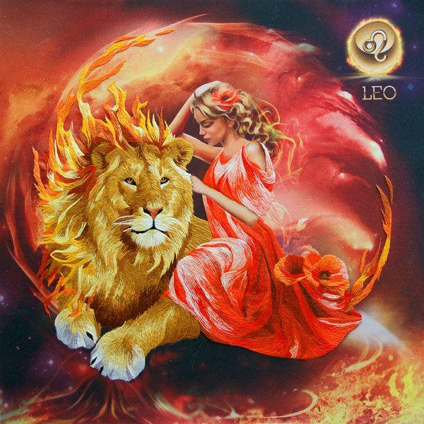 Животное знака зодиака лев